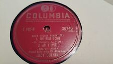 EDDY DUCHIN THE BLUE ROOM & AM I BLUE?  COLUMBIA 36746