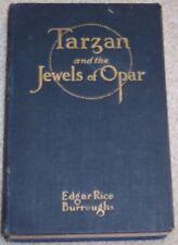 TARZAN & THE JEWELS OF OPAR Edgar Rice Burroughs 1st EDITION McCLURG 3rd printng