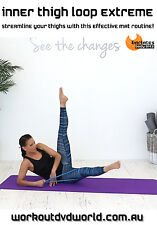 Pilates Toning with Band DVD - Barlates Body Blitz INNER THIGH LOOP EXTREME!