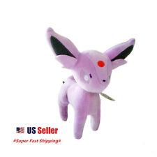 "New Pokemon Pocket Monster Eevee Evolution Espeon Plush Stuffed Doll 8"" Doll"