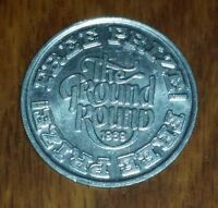 1969 THE GROUND ROUND Restaurant TOKEN  Free Prize TOLEDO OHIO vintage COIN