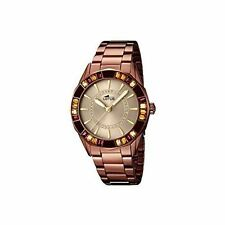 Lotus Analogue Stainless Steel Band Wristwatches