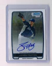 2012 Bowman Chrome James Paxton Auto RC Prospect BCA-JP Yankees Mariners