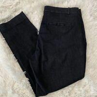 """Banana Republic Womens Size 8 Dark Blue Sloan Crop Denim Jeans 26"""" Inseam EUC"""