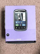 MOTOROLA SPICE XT300 UNLOCKED SLIDE CELL PHONE !!Brand New!! Retailed For $3.5k
