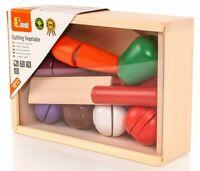 VIGA Wooden Cutting Vegetables Box & Chopping Board Set - BNIB - 56291