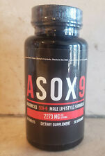 Asox9 New Male Enhancement Formula 60 tabs Brand New Authentic New Free Shipping