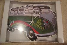 Con licenza ufficiale retrò VW Volkswagen Camper Bus Vintage t1 Orologio da Parete Surf Van