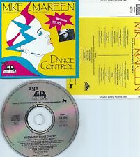MIKE MAREEN-DANCE CONTROL-1986-W.GERMANY-GALAXIS / ZYX RECORDS CD 9017-CD-MINT-