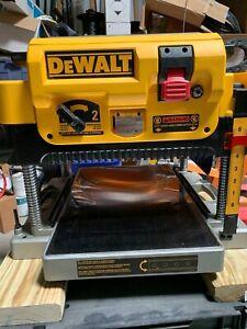 Used DeWalt DW735 Planer 13 inch 3 Knife Cutter Head In Original Box