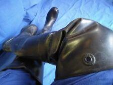 Rubber Boots,Wader Goma,Botas Altas De Caucho Natural Pesca Caza Talla 42_43