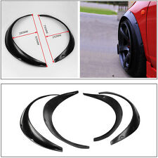 High Quality 4pcs Black Polyurethane Car Off Road Flexible Durable Fender Flares
