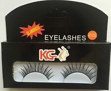 KG002 KG STRIP EYELASHES WITH GLUE BRAND NEW