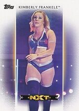 2017 Topps WWE Women's Division, Roster Card # R-6 Kimberly Frankele