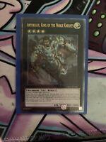 Artorigus, King of the Noble Knights - CBLZ-EN086 - Ultimate Rare - Yu-Gi-Oh
