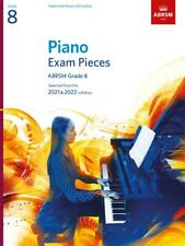 More details for abrsm piano exam pieces book only 2021-2022 grade 8