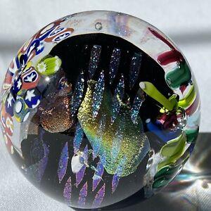 """Glass Eye Studio 2006 """"Houdini"""" Art Glass Paperweight"""