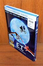 E.T. The Extra-Terrestrial w/ Slip Cover (Blu Ray / DVD, Anniversary Edition)