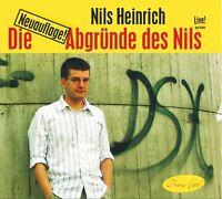 NILS HEINRICH - DIE ABGRÜNDE DES NILS (LIVE)  CD NEU