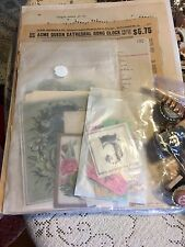LOOK! 125 pc. BAGS VINT. ALTERED ART ITEMS, COLLAGE,