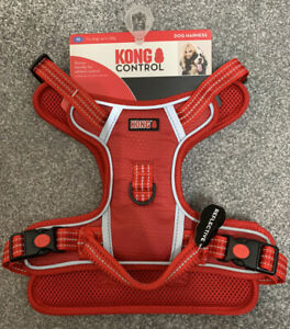 Red KONG CONTROL Dog Harness Reflective Stitching Size M/Medium/Med Up To 23kg