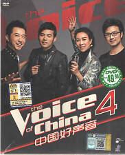 DVD The Voice of China 中國好聲音(Season 4)