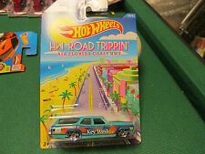 HOT WHEELS ROAD TRIPPIN 16/21 FLORIDA COAST CHEVELLE KEY WEST 16/21 NEW ON CARD
