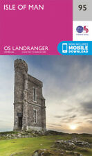 Isle of Man Landranger Map 95 Ordnance Survey 2016