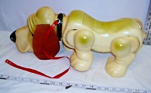 IDEAL GAYLORD THE WALKING BASSET HOUND DOG BATTERY TOY 1962 IDEAL WORKS