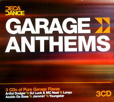 "GARAGE ANTHEMS CD - 3 X CDS FULL 12"" UNMIXED TRACKS ! UK / SPEED GARAGE CDJ DJ"