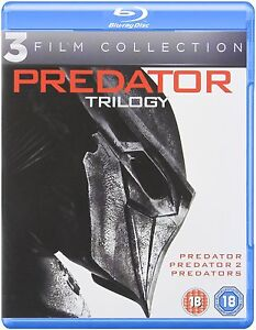 "PREDATOR TRILOGY 3 DISC BOX SET BLU-RAY RB AUSTRALIA ""NEW&SEALED"""
