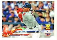 2018 Topps Opening Day #2 RAFAEL DEVERS RC Rookie Boston Red Sox