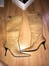 karen millen brown boots size 38 and 1/2