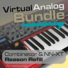 NORD LEAD 2 + JP8000 REASON REFILL BUNDLE 583 NNXT & COMBINATOR RAP EDM MAC PC