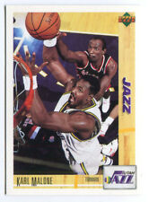 1993 Upper Deck French McDonald's #18 Karl Malone Jazz carte NBA Basketball