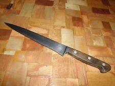 """Vintage J.A. Henckels Twinworks 106-8"""" Carbon Steel Chef Knife-Solingen Germany"""