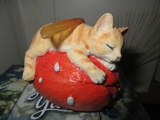 Cute Faerie  Glen Faerie Tails Fairy Cat  Harmony Boxed Retired Figure