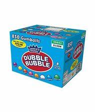 """Dubble Bubble Assorted Gumballs Bulk 850 pcs 1"""" 24mm"""