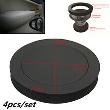 "6.5""Car Door Speaker Bass Ring Foam Woofer Pad Noise Sound Wave Accessories 4pcs"