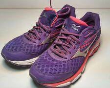 Mizuno Wave Inspire 12 Women's Running Shoes Size US 8.5 M (B) EU 39 Purple wide