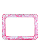 INFLATABLE BLOW UP 60 x 80 CM FANCY DRESS PHOTOBOOTH PROP PICTURE FRAME PINK HEN