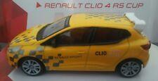 1/43 RENAULT CLIO 4 RS CUP RALLYE COCHE DE METAL A ESCALA COLECCION DIECAST