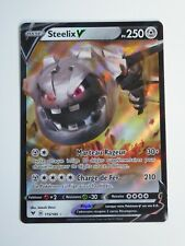 Carte POKEMON - Steelix V PV250 115/185 Voltage éclatant EB4 - FR