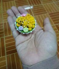Doll house Clay Miniature Exquisite Kitchen Thai Desserts Accessory Handmade