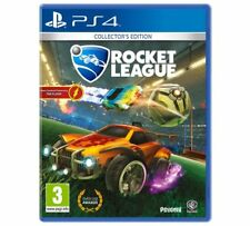 Rocket League Collectors Edition PS4 Game High-Flying Hard-Hitting Rocket-Power