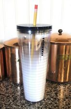 Starbucks Tumbler 24oz New with Tag Teacher Cup Pencil Paper