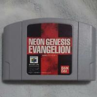 Eva N64 Neon Genesis EVANGELION Nintendo 64 Another ending Tested Working