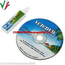 CD PULIZIA KIT DVD VCD CD PULISCI LENTE LENS CLEANER STOCK COMPUTER CONSOLLE BOX