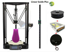 Anycubic 3D Printer Kossel Linear Plus DIY Kit Unassemble Delta Big Size+Heatbed