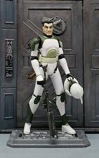 """Star Wars Clone Wars ANTI HAILFIRE SQUAD Trooper 3.75"""" figure w/Removable helmet"""